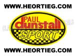 Paul Dunstall Sport Tank and Fairing Transfer Decal DDUN3-7